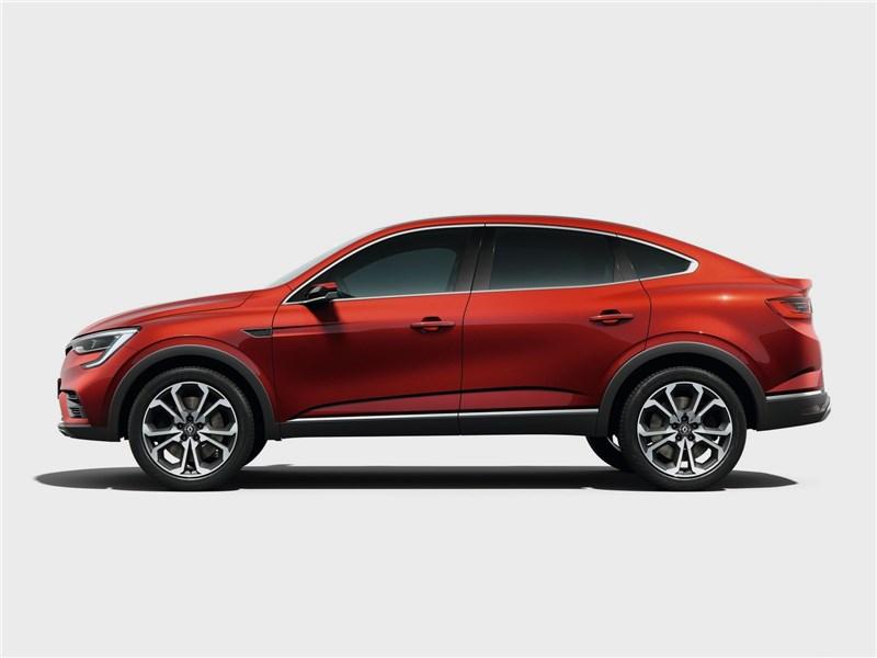 Renault Arkana Concept 2018 вид сбоку
