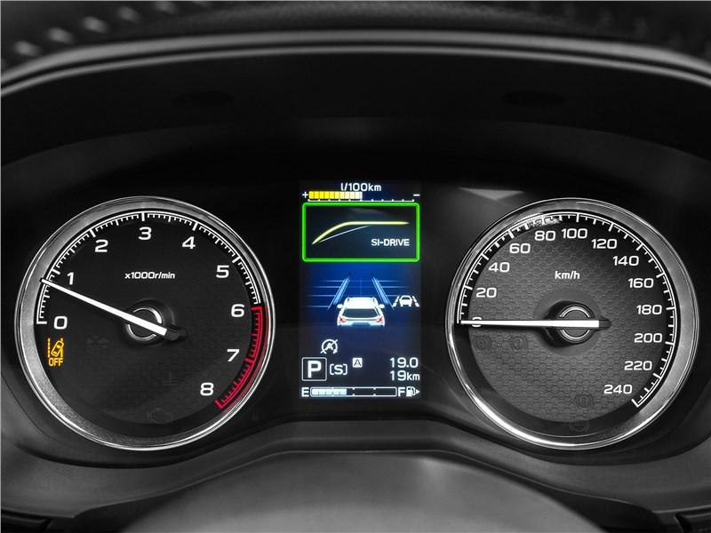 Subaru Forester 2019 приборная панель