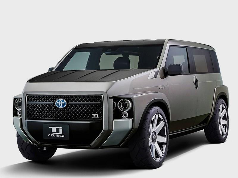 Toyota займется выпуском внедорожного фургончика Фото Авто Коломна