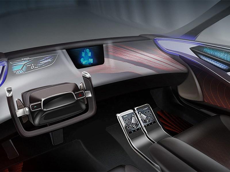 Toyota покажет интерьеры своих беспилотников