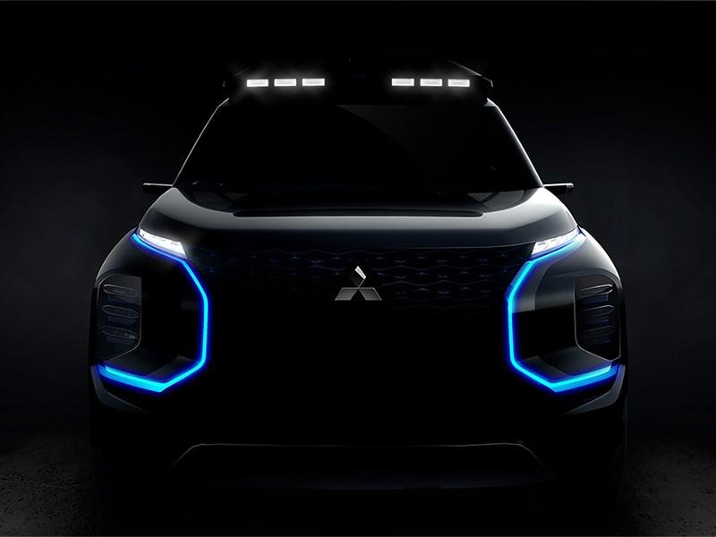 Mitsubishi готовит концептуальный кроссовер Фото Авто Коломна