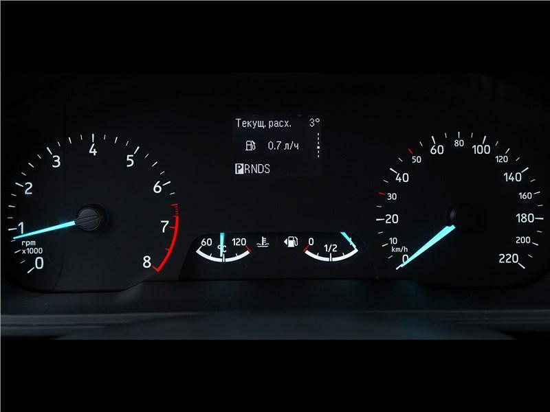 Ford EcoSport 2018 приборная панель