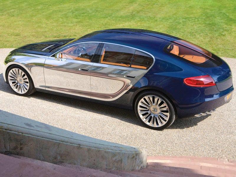 Bugatti создаст электрический седан