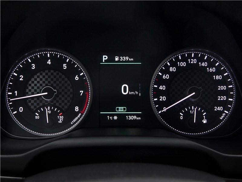 Hyundai Elantra 2019 приборная панель