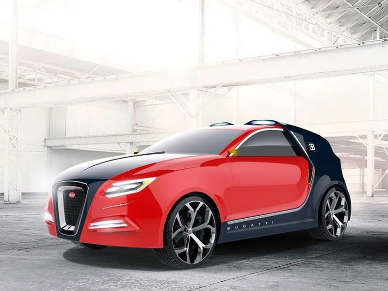 Bugatti готовит трехдверный кроссовер Фото Авто Коломна