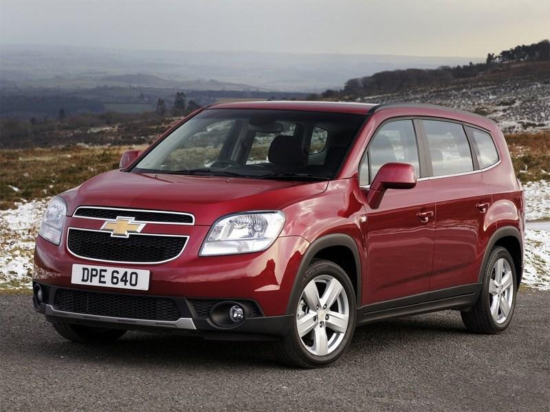 Новинка Chevrolet Orlando получила новый мотор