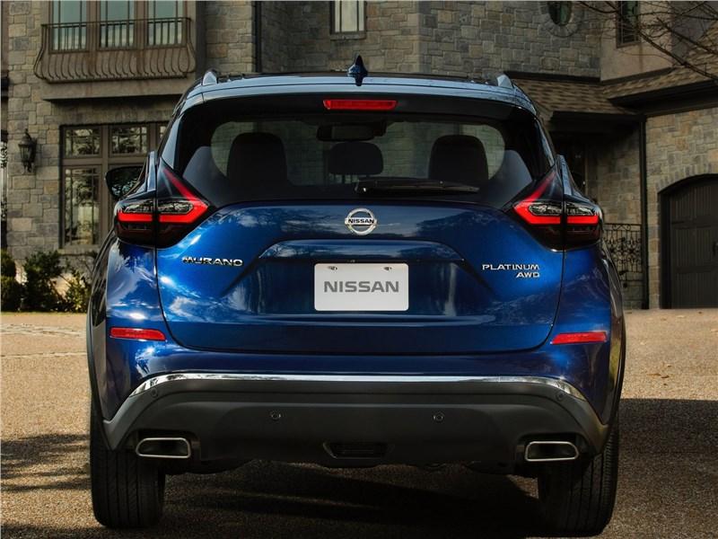 Nissan Murano 2019 вид сзади