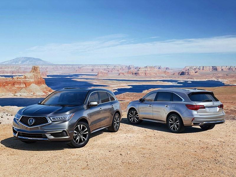 Acura представила модернизированный MDX
