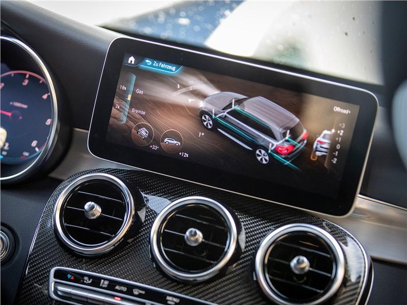 Mercedes-Benz GLC 2020 монитор