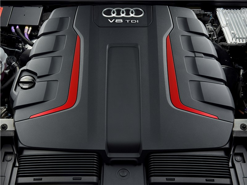 Audi SQ8 TDI 2020 двигатель