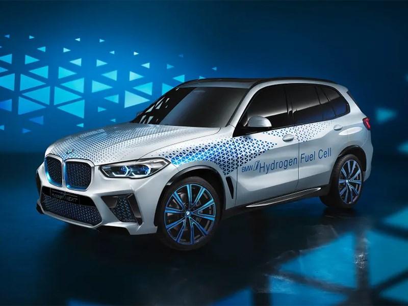 BMW представила водородный X5