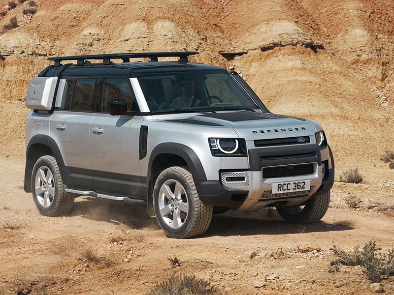 Новый Land Rover Defender получит заряженную версию