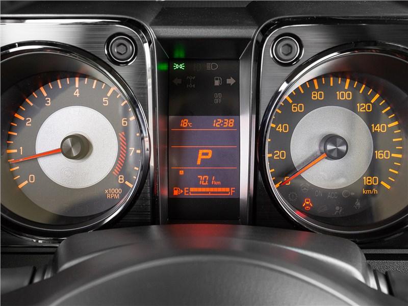 Suzuki Jimny 2019 приборная панель