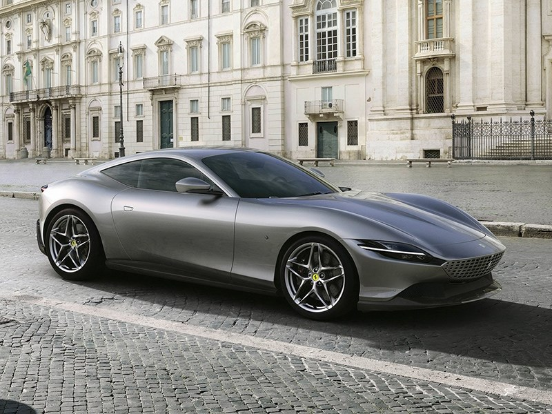 Новое купе Ferrari назвали в честь итальянской столицы Фото Авто Коломна