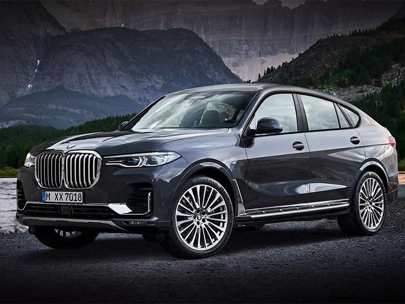 Выход BMW X8 уже не за горами