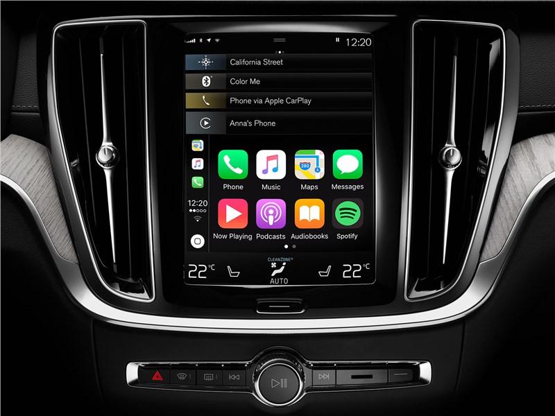 Volvo V60 Cross Country 2019 мультимедийный центр