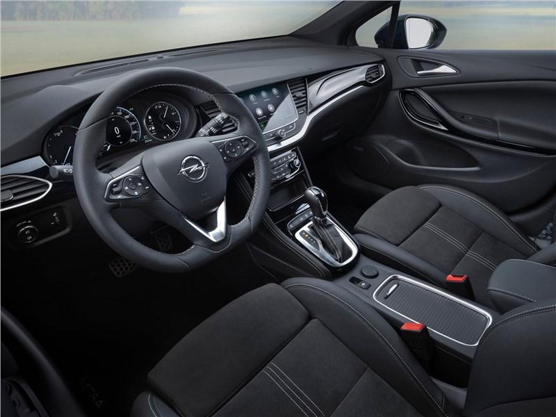 Opel Astra 2020 салон