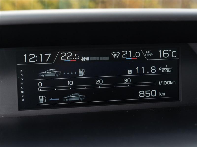 Subaru XV Tokyo 2019 монитор