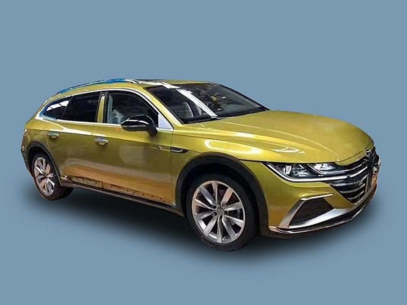 Volkswagen Arteon стал универсалом Фото Авто Коломна
