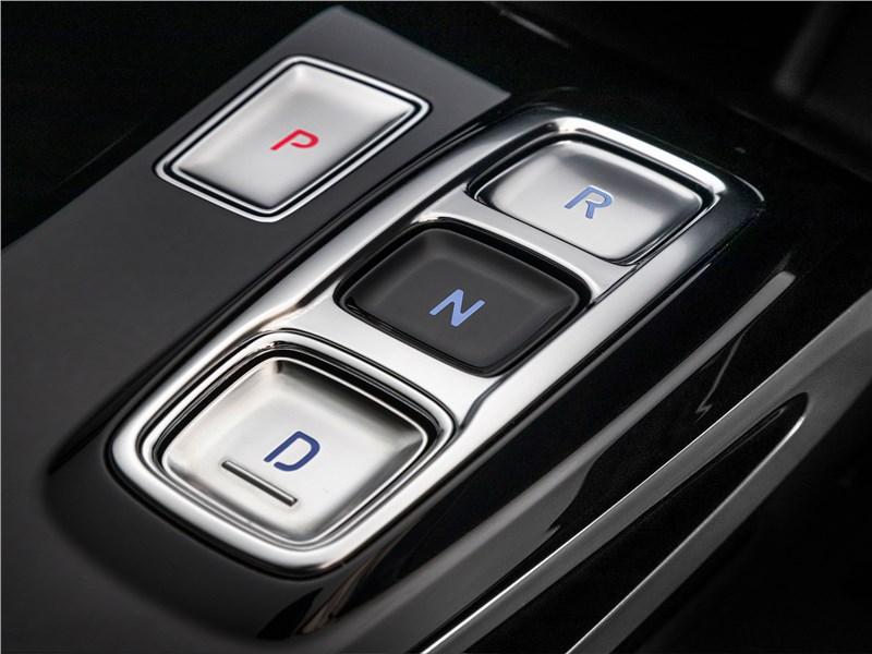 Hyundai Sonata 2020 кнопочный селектор «автомата»