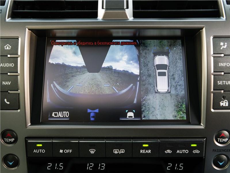 Lexus GX 2020 центральная консоль