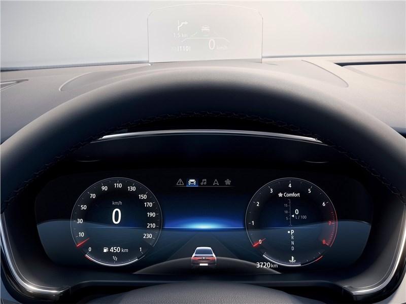 Renault Talisman 2020 приборная панель