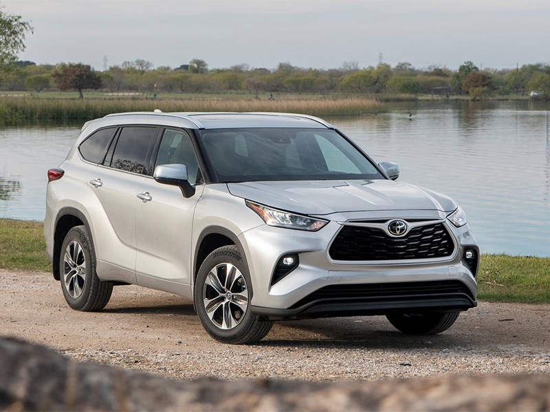 Toyota сертифицировала новый Highlander для России