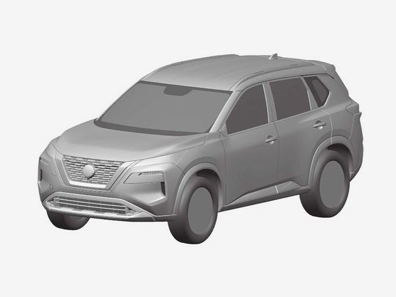 Новый Nissan X-Trail: внешность раскрыта