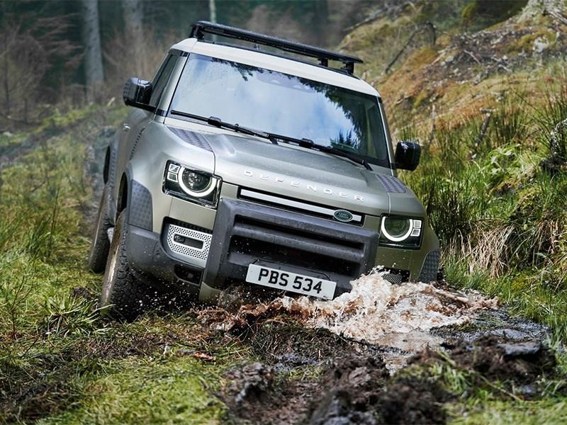 В Land Rover начали российские испытания Defender