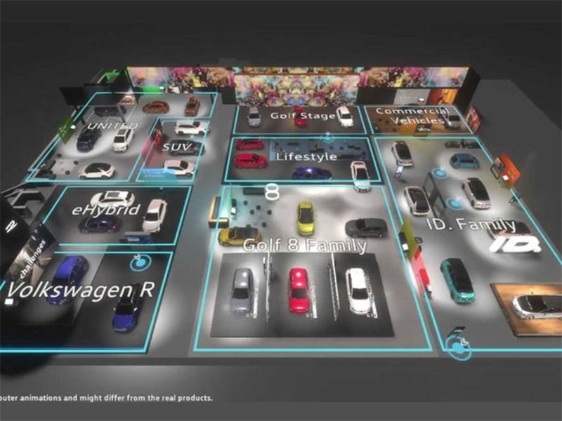 Volkswagen перевел Женеву в онлайн