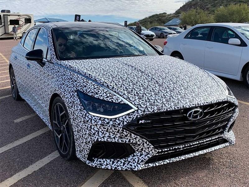 """В Hyundai собираются немного """"разогреть"""" Sonata"""