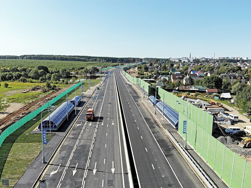 На Калужском шоссе изменили скоростной режим