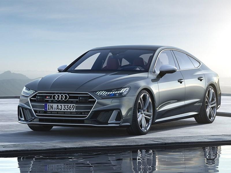 Спортивные Audi S6 и S7 доехали до России с новым мотором Фото Авто Коломна