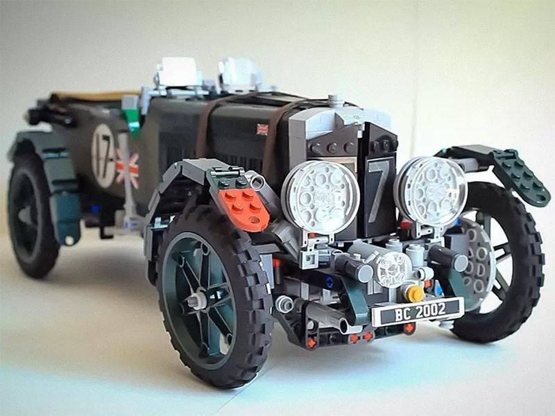 Легендарный Bentley возвели в Lego