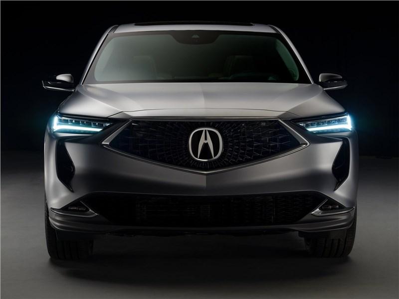 Acura MDX Concept (2020) вид спереди