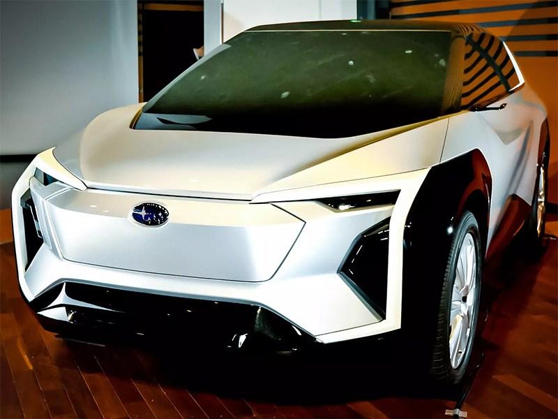 Первый электрокар Subaru увидит свет до 2025 года