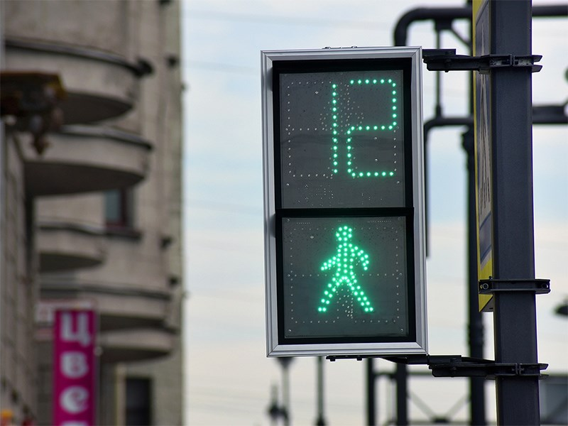 В Москве начали тестировать новые светофоры