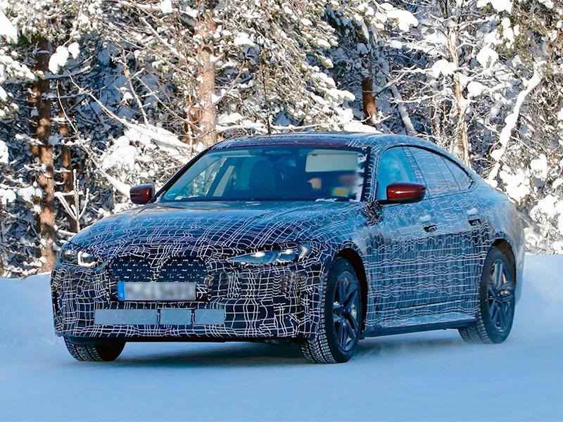 BMW I4 представят уже совсем скоро