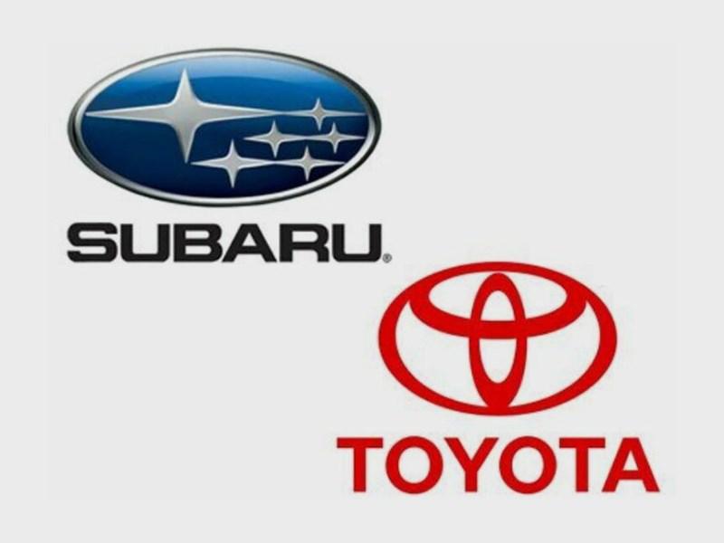 Subaru и Toyota готовятся к презентации нового автомобиля