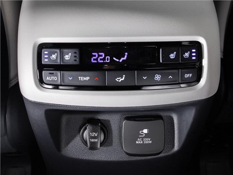 Hyundai Palisade (2020) климат для второго ряда
