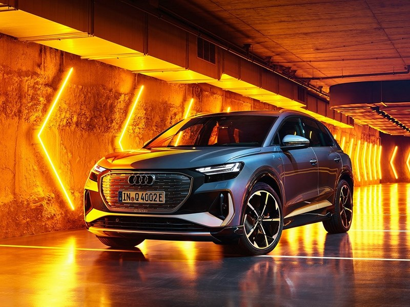 Представлена Audi Q4 e-tron