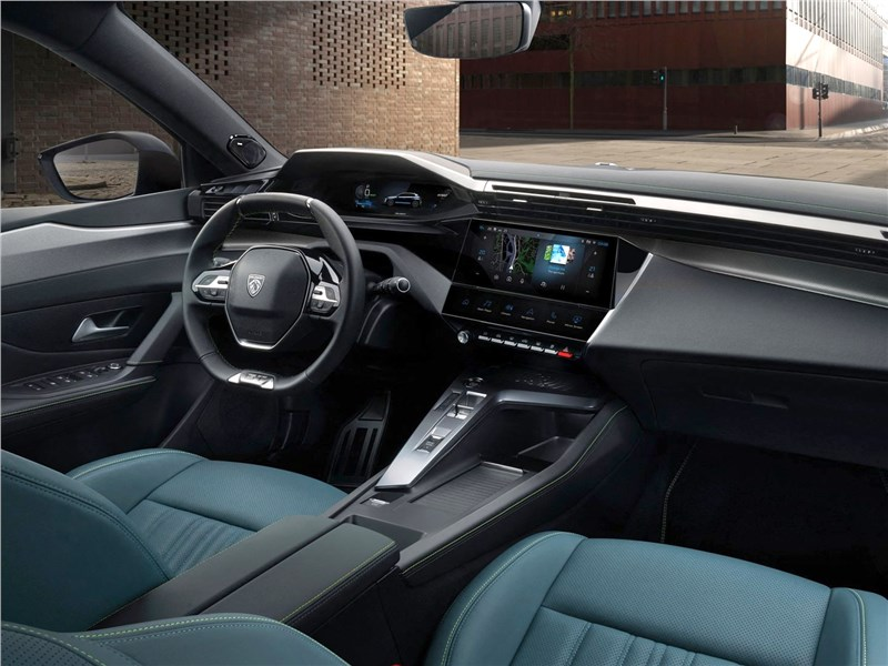 Peugeot 308 (2022) салон