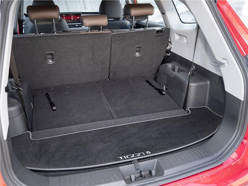 Chery Tiggo 8 Pro (2021) багажное отделение