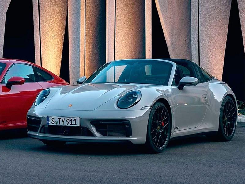 Porsche представил 911 GTS для российского рынка