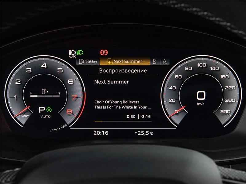Audi Q5 (2021) приборная панель