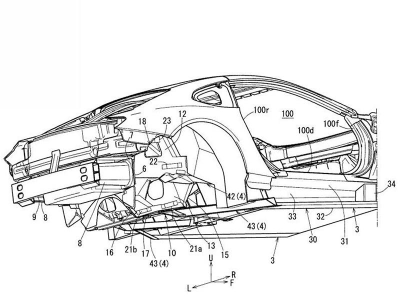 Mazda запатентовала необычное купе