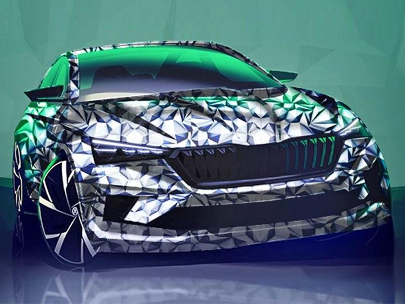 Skoda готовится представить новый седан