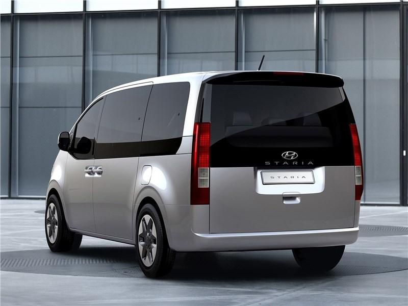 Hyundai Staria (2022) вид сзади