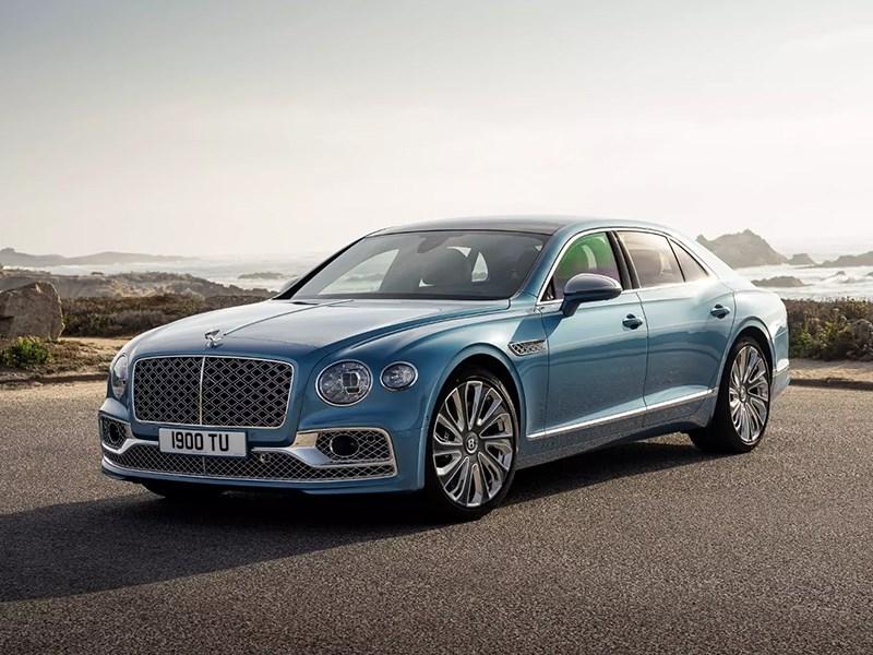 Ателье Mulliner представило новый проект на базе Bentley Flying Spur