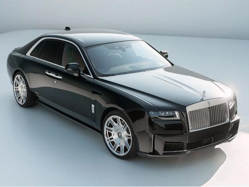 Rolls-Royce Ghost подвергся тюнингу